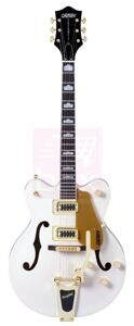 Полуакустическая гитара Gretsch Guitars G5422tdcg Electromatic Hollow Bodysnow Crest White